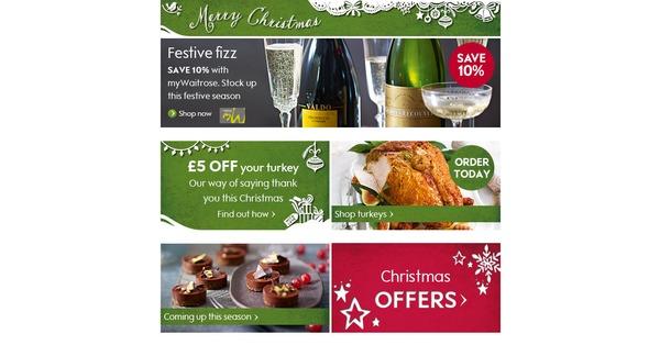 <b>Christmas</b> UK - <b>Waitrose&#39;s Christmas Food</b> To <b>Order</b> catalogue is now ...