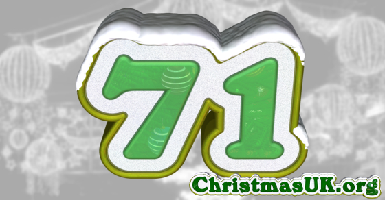 Days Till Christmas Uk.Christmas Uk Christmas Uk Countdown There Are 71 Days